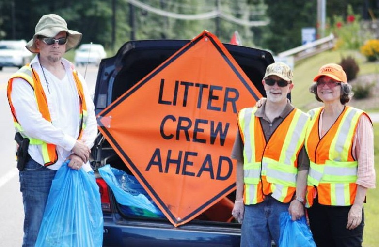 March Meeting and Litter Pick-up