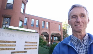 Mike at Belknap Superior Court
